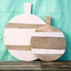 Marble & Wood Serving Board in Entertaining DINING + SERVING Serving Pieces at Terrain