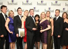 Some of our team at the 2011 HSMAI Adrian Awards, where we took home the gold award for digital marketing!