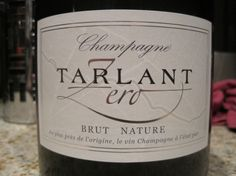 One of my favourite Champagnes ever - The Tarlant Zero