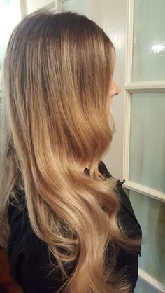 Colored created with Wella  Innosense color boost service. Styled with Sebastian products.
