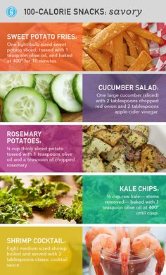 healthy snacks!