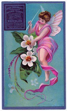 Vintage Fairy Needles Package