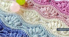 Patrón #1371: Punto Calado a Crochet