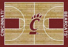 Cincinnati Rug University Basketball Court