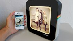 #Auction Item Idea: The Instacube puts #instagram photos on your bedside table! #coolgadgets