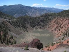 Dotsero Crater near Dotsero, Colorado. The only volcano in Colorado that has erupted within the past 10,000 years (during the Holocene). It is one of the youngest eruptions in the continental US.    Once the snow melts, we shall slay this volcano!