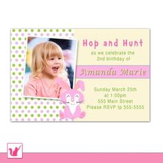 Pink Fairy Birthday Invitation Custom Any Age Girl 1st Birthday ...