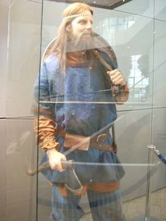 Viking figures from Iceland's Saga Museum.