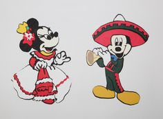 Mexico Mickey And Minnie