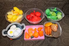 15 Ways to Learn with Play Food