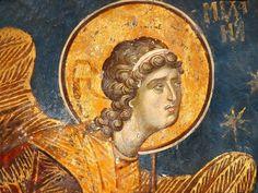 Christian Art, Byzantine, Fresco, Mona Lisa, Past, Saints, Artwork, Pictures, Painting