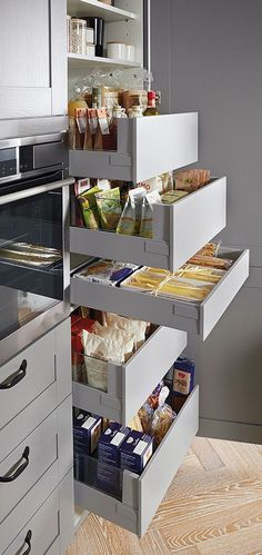 32 Amazing Small Kitchen Ideas For Outdoor. If you are looking for Small Kitchen Ideas For Outdoor, You come to the right place. Below are the Small Kitchen Ideas For Outdoor. Kitchen Appliance Storage, Kitchen Storage Solutions, Pantry Storage, Kitchen Organization, Organization Ideas, Kitchen Appliances, Smart Storage, Diy Storage, Smart Kitchen