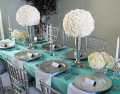 Tiffany Inspired Tablescape