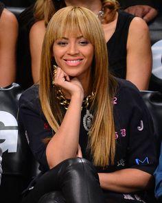 Hair Envy Alert! Beyonces Bangs :: Company.co.uk