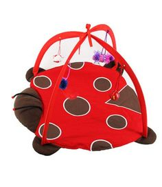 Coccinella Cat Tortorise Bed Toys Mobile Activity Playing Bed Toys