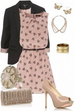 a girly chic look #outfits #style