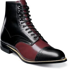 High Ankle TwoTone Rounded Cap Toe Handmade Genuine Leather LaceUp Stylish Boots sold by LeathersPlanet. Shop more products from LeathersPlanet on Storenvy, the home of independent small businesses all over the world. Leather Lace Up Boots, Leather Cap, Soft Leather, Suede Boots, Burgundy Boots, High Ankle Boots, Stylish Boots, Fashion Boots, Fashion Men
