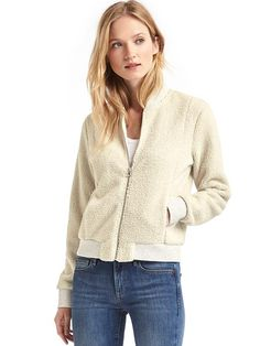 looks cozy for fall... like wearing a sheep.