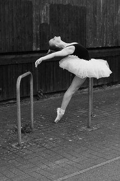 pretty dance pose