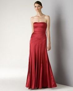 BCBG red satin. Also on ebay. Why do I not shop here more often?