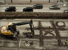 ever wonder why road construction on a single road takes years to complete : )