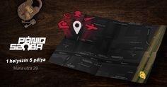 Facebook advertisement for PÁNIQ ROOM #advertisement #map