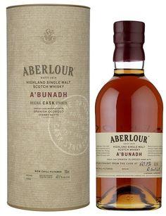 ༺✿ Aberlour a'bunadh Highland Single Malt Scotch Whisky.