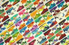 Adidas & Nike illustrations