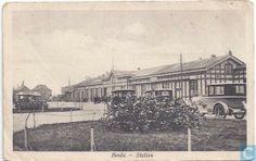 Breda - Spoorwegstation - 1914.