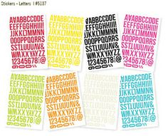 Coming Soon > Letter Stickers - DIY - Simple Stories - PRE ORDER: A Cherry On Top