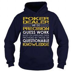 Poker Dealer - Job Title #sunfrogshirt