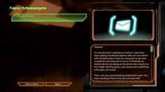 Mass Effect 2: Email (with voiceover) from Kaidan after the meeting on H...