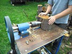 wynajme łuparka do drewna świdrowa Konin Turek koło słupca kalisz września - YouTube