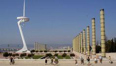 The olympic stadium at Montjuic Park - Barcelona