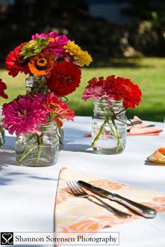 Flowers table deco