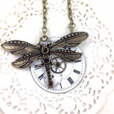 Dragonfly Dial Necklace | $45 on www.runwildhorses.com.au ©Run Wild Horses