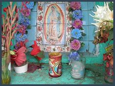 Our Lady of Guadalupe~Lux candle, Virgen de Gdl