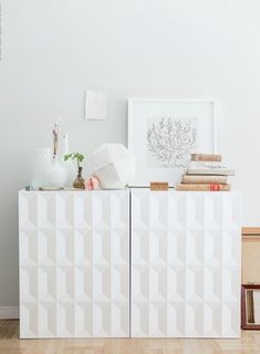 Passion Shake | New, hot look of IKEA's cabinet | http://passionshake.com / Herrestad, IKEA furniture, IKEA cabinet, modern ikea furniture, IKEA design ideas, styling the cabinet