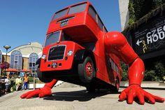 London Booster art installation