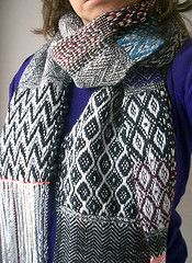 handwoven scarf 46    (hard to choose a favorite - I love all her scarves)