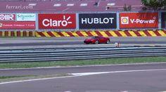 """Ferrari 488 GTB - Full attack mode on the """"home track"""" of Fiorano"""