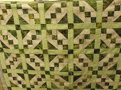 Quilt Walk Talk: Happy National Quilting Day and St. Patricks Day