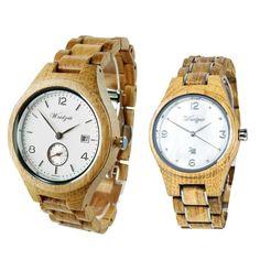 "Partnerské hodinky Barrique ""Sauvignon Blanc"" & ""Blanc de Blancs"" – waidzeit.sk Sauvignon, Wood Watch, Watches, Gold, Accessories, Wooden Clock, Wristwatches, Clocks, Yellow"