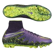 a95478a1c Nike Hypervenom Phantom II AG-R Soccer Cleats (Hyper Grape Black Volt