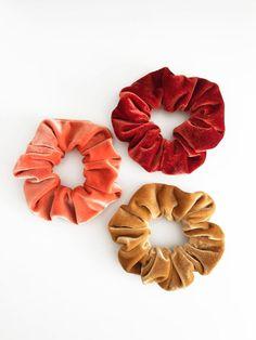 Handmade Scrunchies-Scrunchie packs-Unique scrunchies-Winter scrunchies-Chirstmas scrunchies-Holiday gifts-winter gift 5 Snowman Scrunchies