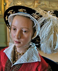 Katherine Parr, Sixth Wife of Henry VIII, Waxwork at Warwick Castle