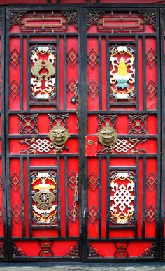 Doorway Series #37:  Juizhai Guo, Sichuan, China (my photos).