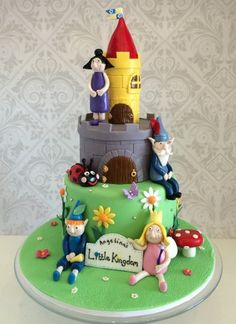 ben and holly's little kingdom cake ideas - Google Search