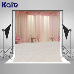 Kate Indoor Wedding Backdrop Princess House Backdrops Newborn Backdrops Large Size Seamless Photo  for Children Photos studio