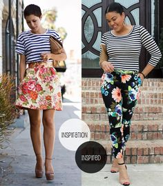 Love both these looks for spring!!!